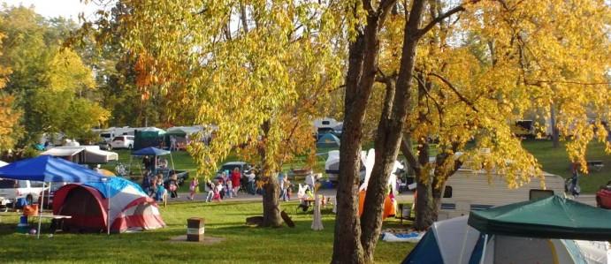 Camping Visitors Bureau Hueston Woods Region